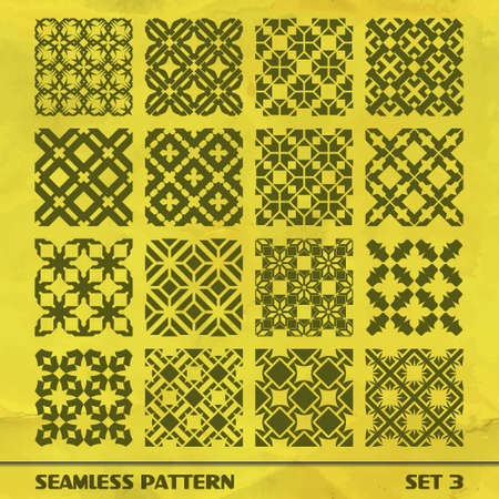SEAMLESS PATTERN  SET 3 Vector