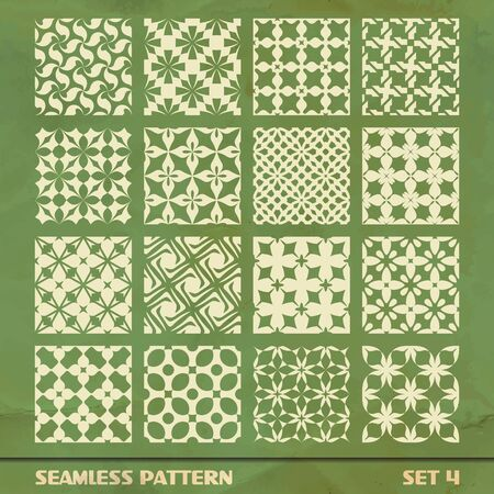 SEAMLESS PATTERN  SET 4 Stock Vector - 17431136