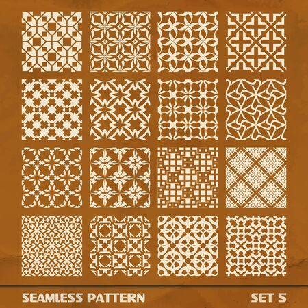 SEAMLESS PATTERN  SET 5 Vector