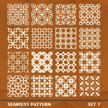 SEAMLESS PATTERN  SET 7 Stock Vector - 17444370