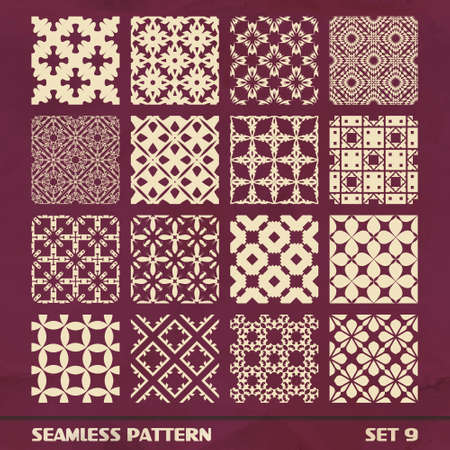 SEAMLESS PATTERN  SET 9 Vector