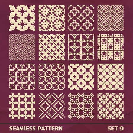 SEAMLESS PATTERN  SET 9 Stock Vector - 17444372