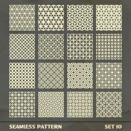 Nahtlose Muster Standard-Bild - 17499493