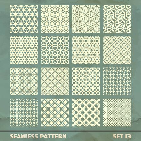 SEAMLESS PATTERN  SET 13 Vector