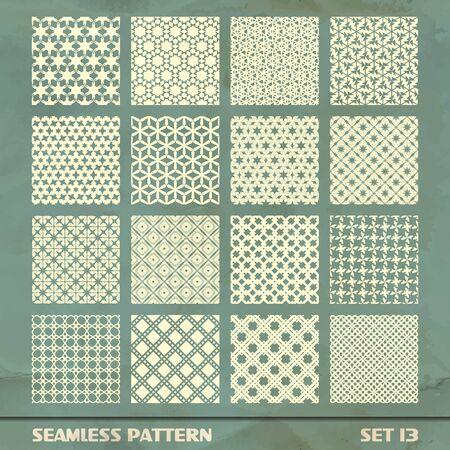 SEAMLESS PATTERN  SET 13 Stock Vector - 17499495