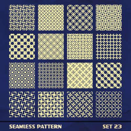 mosaic tiles: Seamless pattern