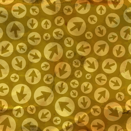 leading the way: Arrows  Seamless pattern