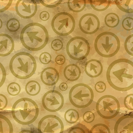 leading: Arrows  Seamless pattern