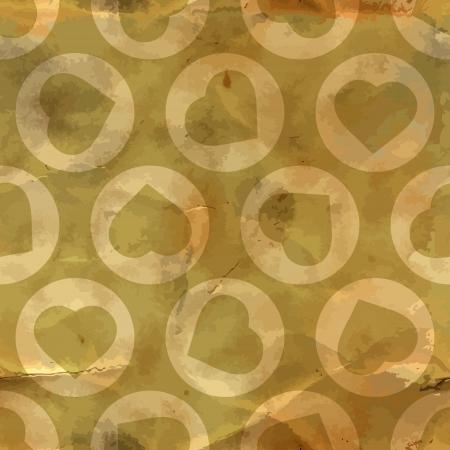 Heart  Seamless pattern Stock Vector - 17497452