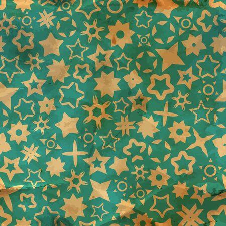 Stars  Seamless pattern Stock Vector - 17517485