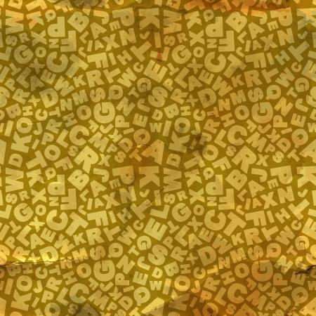 penman: Letters  Seamless pattern