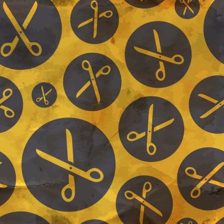 Scissors  Seamless pattern Stock Vector - 18375627