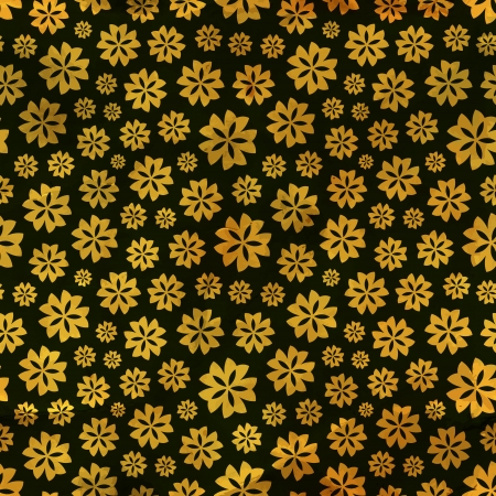 floral tracery: Floral seamless pattern