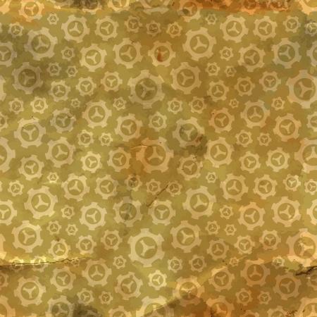 Gear  Seamless pattern Stock Vector - 18350298