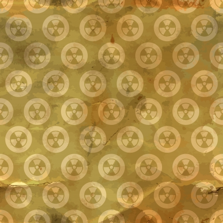 Radiation  Seamless pattern  Vector