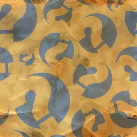 whose: Domande Seamless pattern