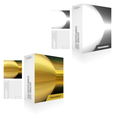 size distribution: Packaging box