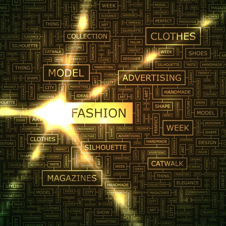 FASHION  Word collage  Stock Vector - 18433885