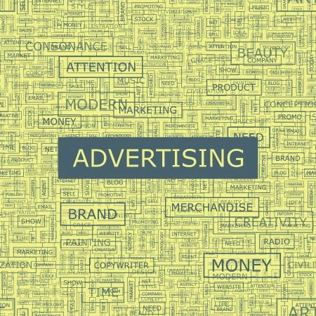 affichage publicitaire: Le bouche collage