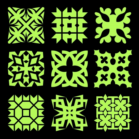 Collection of different graphic elements for design  Vector