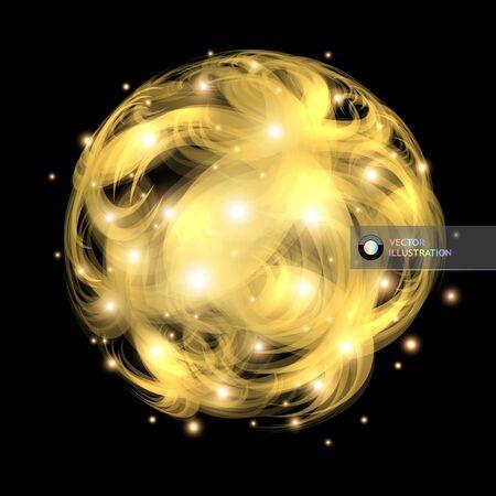 cosmic rays: Abstract illustration