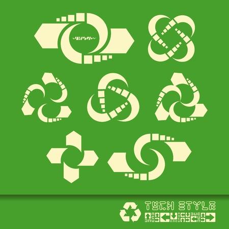 Recycle symbol Stock Vector - 17568588