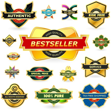 pay attention:  collection of sale labels
