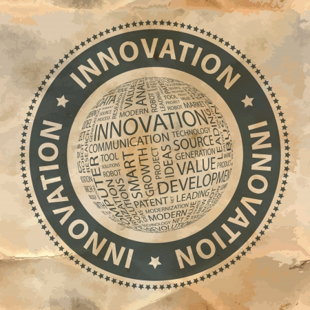 technological: INNOVATION  Word collage