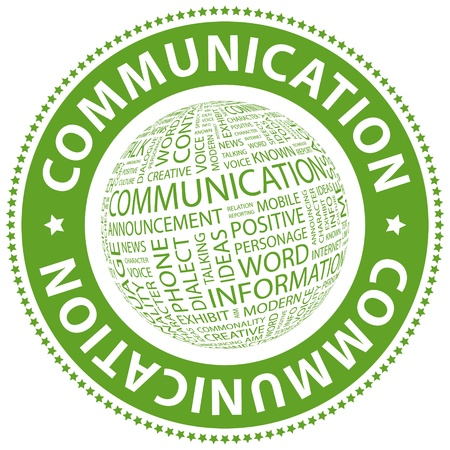 www community: COMMUNICATION  Word collage