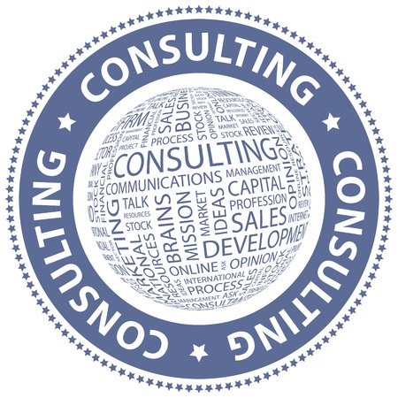 technical service: CONSULTING  Word collage