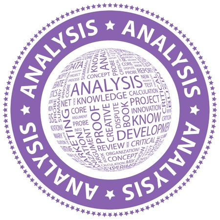 ANALYSIS  Word collage  Vector