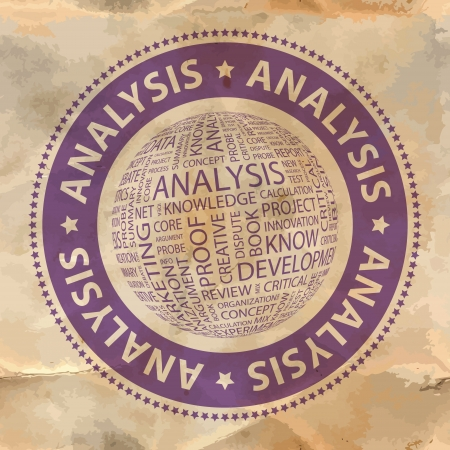 stratgy: ANALYSIS   Word collage