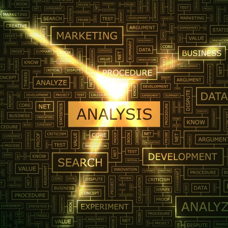 thesis: ANALYSIS  Word collage