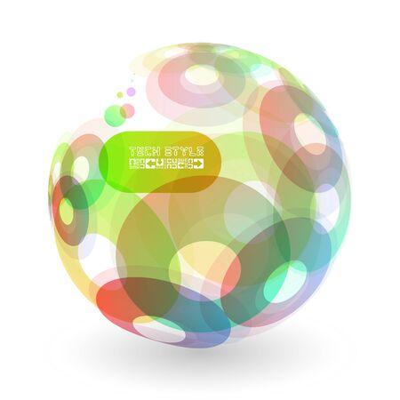 Abstract globe Stock Vector - 17566593