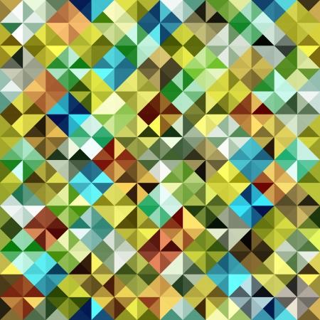 karat: Seamless mosaic pattern