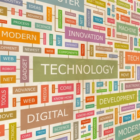 TECHNOLOGY  Word collage