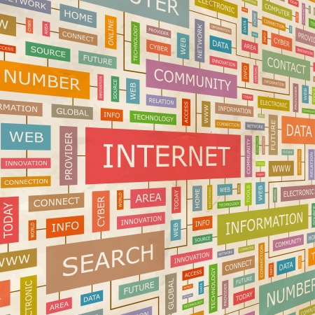 millones: INTERNET collage Palabra