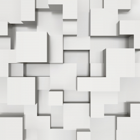 construct: 3D blokken structuur achtergrond illustratie Stock Illustratie