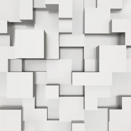 cubo: Bloques 3d estructura de fondo de la ilustraci?n Vectores