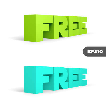 FREE  3d word  Vector