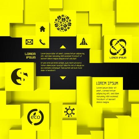 an illustration promoting: 3D business illustration  Vector background  Illustration