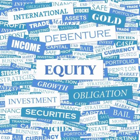 equidad: EQUIDAD Palabra nube concepto ejemplo