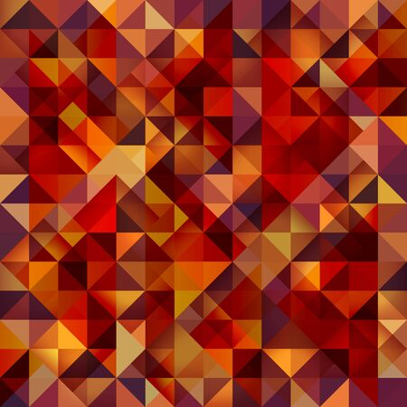 Seamless mosaic pattern Vector