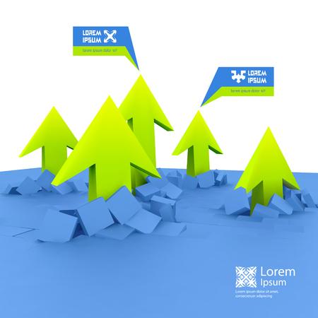 pr: Business concept illustration