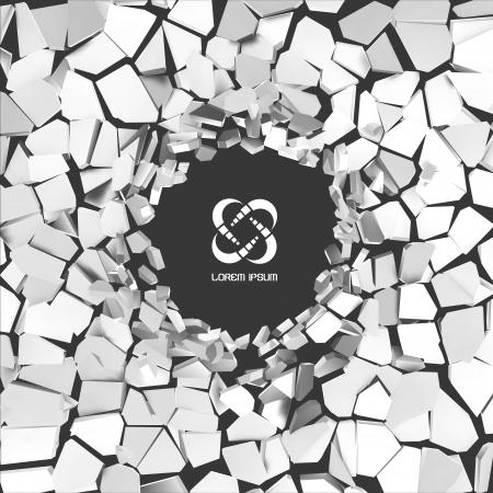rebuild: Cracked background