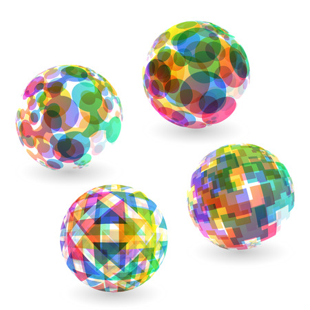 abstract illustration: Sphere. Abstract vector illustration.