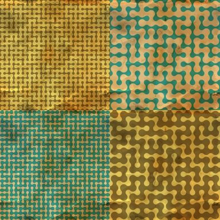 deadlock: Maze  Seamless pattern