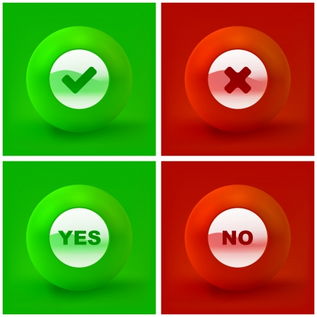 yes or no: YES and NO