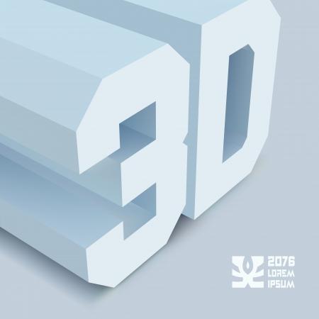 stereoscope: 3D. Vector background. Illustration