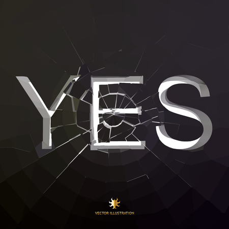 approbate: YES. Vector illustration.